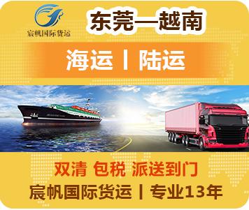 东莞到越南物流-越南物流专线方案[海运陆运]-越南货运公司